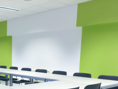 Oficina en dos colores